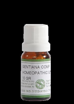 ג'נטיאנה קומפ – תכשיר להקלה על כבדות בבטן וצרבת